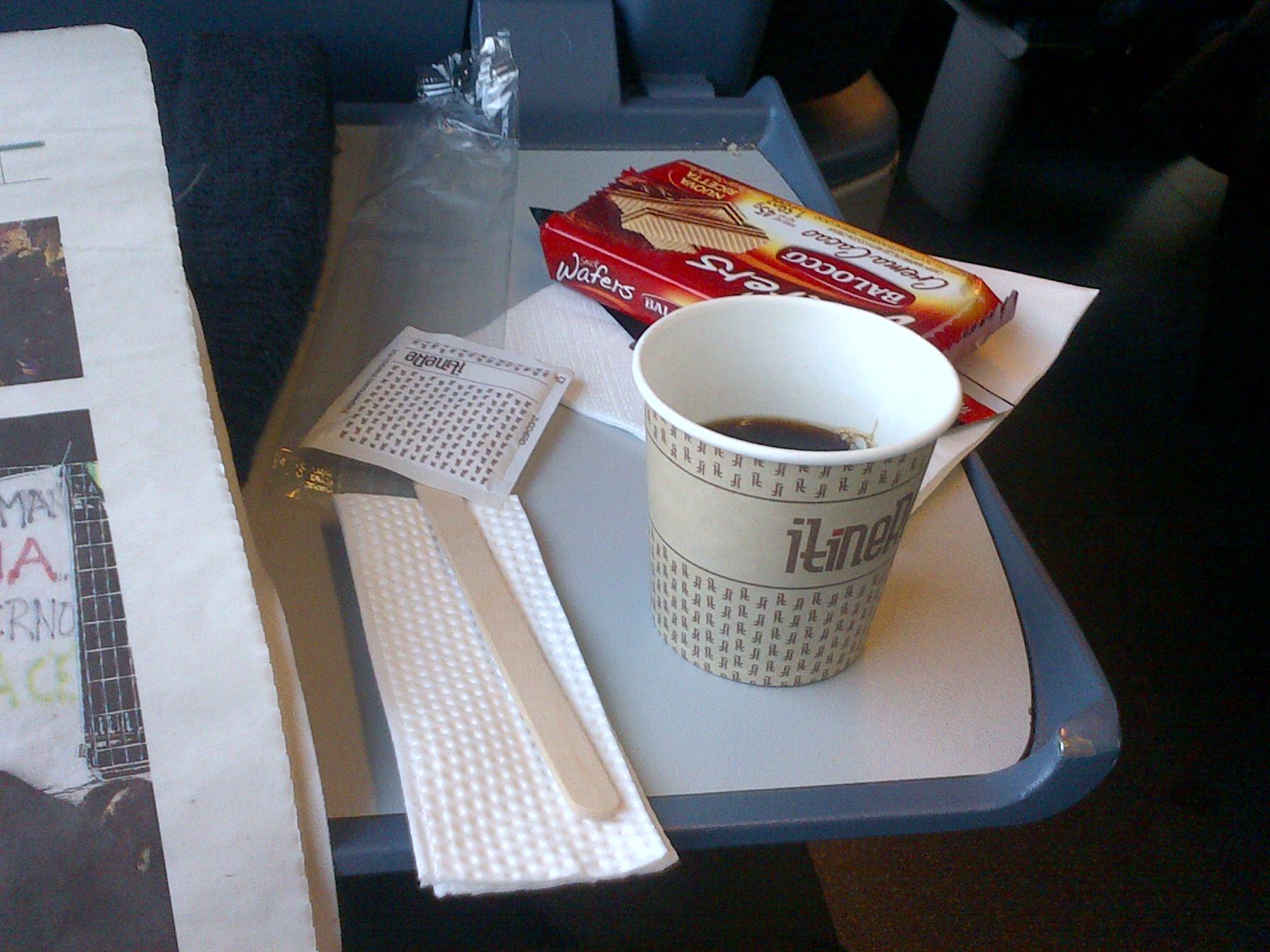 Colazione in treno
