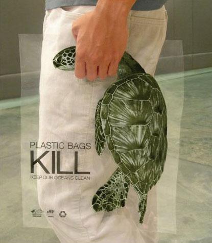 Plastic bags kill_tartaruga