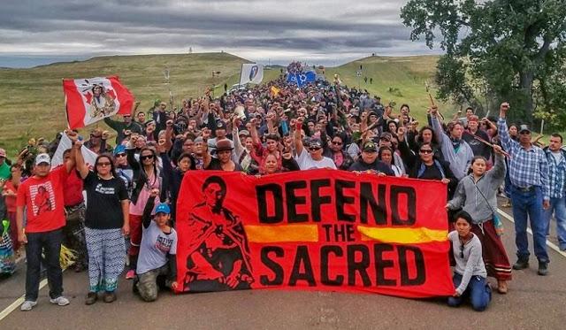 Proteste Standing Rock nativi americani